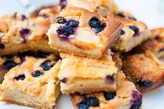 Plaatcake blauw bes/appel