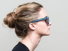 Mosevic Makes Sunglasses From #Recycled Denim Jeans