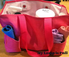 My Lamp is Full: Make a Portable Cleaning Tote