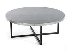 Custom Zinc Top Table | Kingston Krafts