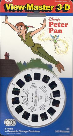 Amazon.com: Peter Pan View-Master 3-D - 3 Reels: Toys & Games Peter Pan 3, View Master, 3d Photo, Boys Who, Little Ones, Growing Up, 3 D, The Past, Funny Memes