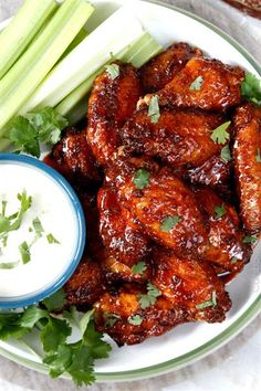 For an update to your traditional spicy buffalo chicken wings, try making this recipe, which combines honey with buffalo sauce. Click through for recipe.