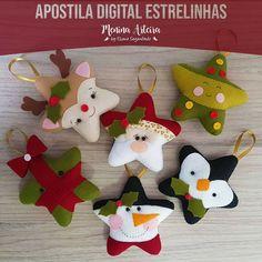 Inspirasi dekorasi natal By: - Felt Christmas Decorations, Felt Christmas Ornaments, Christmas Stockings, Christmas Projects, Felt Crafts, Holiday Crafts, Christmas Sewing, Christmas Crafts, Christmas Makes
