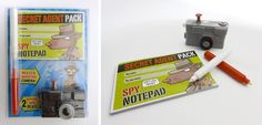 Spy set produced by IMI #MagazineGift