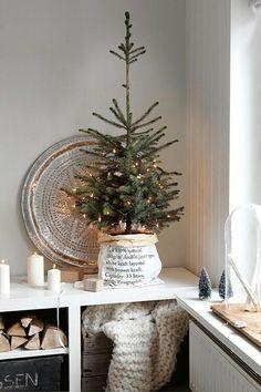 christmas tree decorations small christmas tree decor small xmas tree christmas time white - How To Make Scandinavian Christmas Tree Decorations