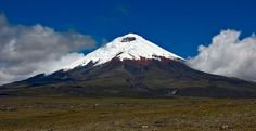Cotopaxi Volcano, Ecuador - Wikipedia - Caption: Cotopaxi seen from the high plain m.) of Cotopaxi National Park. Cotopaxi volcano stratovolcano 5911 m / ft Ecuador, / Current status: normal or dormant out of Cotopaxi webcams / live data National Park Tours, Us National Parks, El Canton, South America Destinations, Travel Destinations, Beautiful Places To Visit, Amazing Places, Adventure Travel, National Parks