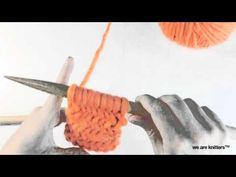 Learn to knit Herringbone stitch - How to knit