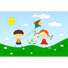 Playing in the sun, φωτογραφική ταπετσαρία Worksheets, Kids Rugs, Cards, Home Decor, Decoration Home, Kid Friendly Rugs, Room Decor, Literacy Centers, Maps