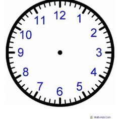 Blank Clock Worksheets For Kids – Mreichert Kids Worksheets Clock Worksheets, Kids Math Worksheets, Math Activities, Free Worksheets, Printable Worksheets, Printable Coloring, Free Printables, Teaching Time, Help Teaching