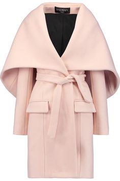 BALMAIN Wool and cashmere-blend coat. #balmain #cloth #coat