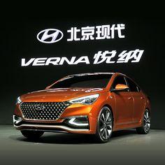 '2016 #베이징 국제 #모터쇼 ' 에 참가한 #현대자동차 는 도심형 #세단 , #베르나 #콘셉트모델 을 #최초 로 공개합니다  #Hyundai #Motor participated in '2016 #Beijing International Automotive #Exhibition ' releases the #concept #model of #urban type #sedan , #VERNA for the #first time  #car #motorshow #China #launching #grill #런칭 #최초공개 #중국 #위에나 #신형 #자동차 #자동차그램 #new