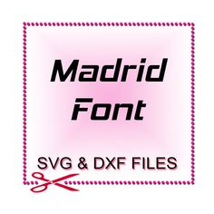 Silhouette SVG File  Font Design Files For Use With by SVGFILE