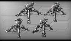 Spider Mechas 2 by TheUncannyKen.deviantart.com on @deviantART