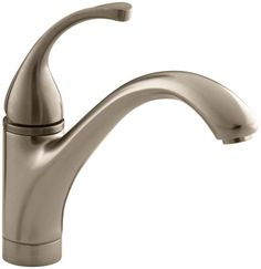 Kohler K-10415 Single Handle Kitchen Faucet from the Forte Collection