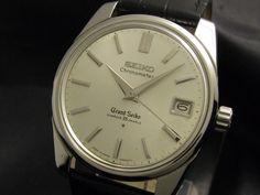 Super Rare! 2'nd Chronometer GRAND SEIKO Ref.43999/Cal.430 1964's
