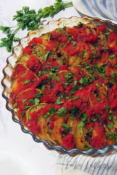 Бриам - греческое овощное рагу Briam, Ratatouille, Ethnic Recipes, Food, Essen, Meals, Yemek, Eten