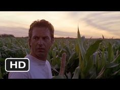 In the movie, Field of Dreams Ray (Kevin Costner) hears a whisper in the cornfield urging him to build something. Family Movie Night, We Movie, Kid Movies, Family Movies, Cult Movies, Kevin Costner, Famous Movie Quotes, Film Quotes, Quotes Images