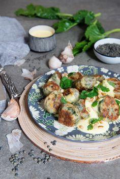 Boulettes Ricotta, Blettes et Lentilles - Safran Gourmand
