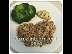 Arroz Integral con pavo lunch saludable - YouTube