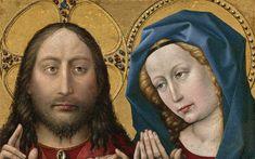 1430 Art Tour, Robert Campin, Part 1 - A Guided Tour of Philadelphia in 1430 #art #oilpainting #burgundy #Philadelphia #DoNArTNeWs