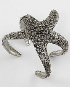 'Sea Star (Starfish) Cuff Bracelet' is going up for auction at  8pm Fri, Jan 17 with a starting bid of $8.
