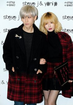 ♠Seoul Fashion Week - Troublemaker Hyuna and HyunSeung