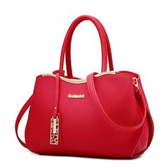 Dunland women fashion PU Leather Womens Purses and Handbags Large Tote with  Shoulder Strap Tote Handbags 10d8b29175