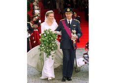 Matilde da Bélgica | Vestido Edouard Vermeulen - Máxima | geral@maxima.xl.pt