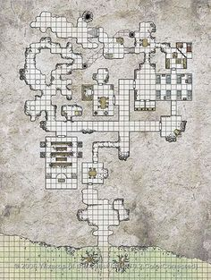 Dungeon - Anyone know if this is hand drawn or if there is software to generate maps like this?