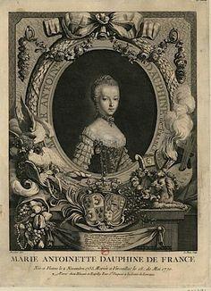 Gravure de Marie Antoinette, Joseph Ducreux