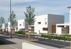 Vue depuis la rue Antonio Vivaldi - Architecte(s) : XXL Civita - mandataire, Planb architectes urbanistes