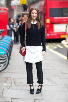 Chanel. Street style - London.