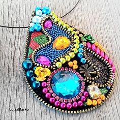 LujzaMarko / Gypsy tear náhrdelník