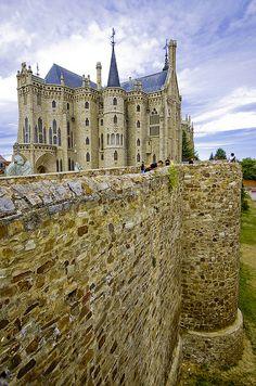 Palacio Episcopal de Astorga,  León  Spain / Architect: Antonio Gaudi