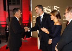Queen Letizia and King Felipe attended anniversary celebrations of AS Newspaper