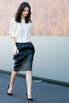 Street Style, Paris Ready to Wear Fall 15', Buro 24/7