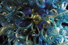 Dale Chihuly close-up