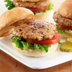 A new take on a turkey burger that is juicy and full of flavor.