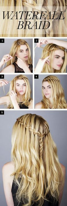 How to Waterfall Braid Your Own Hair? - Must Check! ~ Entertainment News, Photos & Videos - Calgary, Edmonton, Toronto, Canada