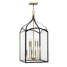 shades of light \Traditional Two Toned Lantern- Large