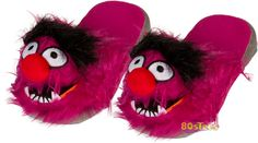 Muppets Animal Slippers-Christmas Idea for someone else:)