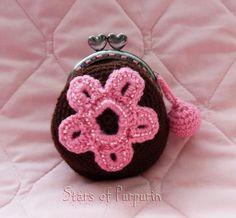Purse of Crochet handmade.