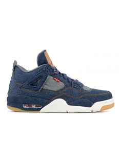 Nike Air Jordan 4 Retro Levis Nrg Levis Denim Denim Sail Game Red Outlet 1761cfb5d