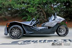 Polaris Slingshot with 22in Savini BM13 Wheels | Additional … | Flickr