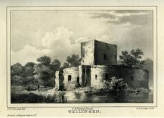 Kasteel Teilingen - Sassenheim (thans ruine). (1841-1846)