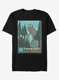 73f746a4ab3 We Bare Bears The Squatch No Pictures T-Shirt