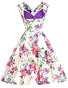 Grace Karin Women's Vintage 1950's Floral Cut Out Casual Party Dresses at Amazon Women's Clothing store:  https://www.amazon.com/gp/product/B01DPD3N2A/ref=as_li_qf_sp_asin_il_tl?ie=UTF8&tag=rockaclothsto-20&camp=1789&creative=9325&linkCode=as2&creativeASIN=B01DPD3N2A&linkId=915f61f9295bc613c64dca8920043739