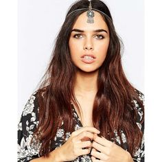 ASOS Dreamcatcher Hair Crown ($12) ❤ liked on Polyvore featuring accessories, hair accessories, silver, asos, silver crown, crown hair accessories, silver hair accessories and asos hair accessories