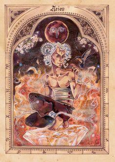 ZODIAC: Aries by Miss-Belfry on deviantART