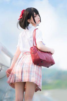Cute Asian Girls, Cute Girls, Cute Girl Poses, Pretty Girls, Cute Girl Photo, Cool Girl, Cute Lesbian Couples, Cute Japanese Girl, Military Girl